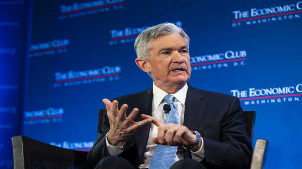 Watch Fed chair's Jerome Powell's full interview at The Economic Club of Washington