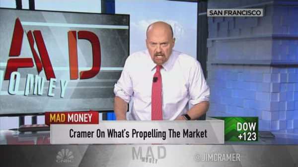 Good sign stocks rallying on days they should drop: Cramer