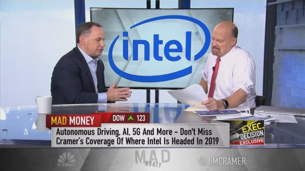 Intel has the biggest addressable market it's ever seen, says company's interim CEO