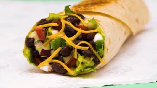 Taco Bell Veggie Power Menu Burrito