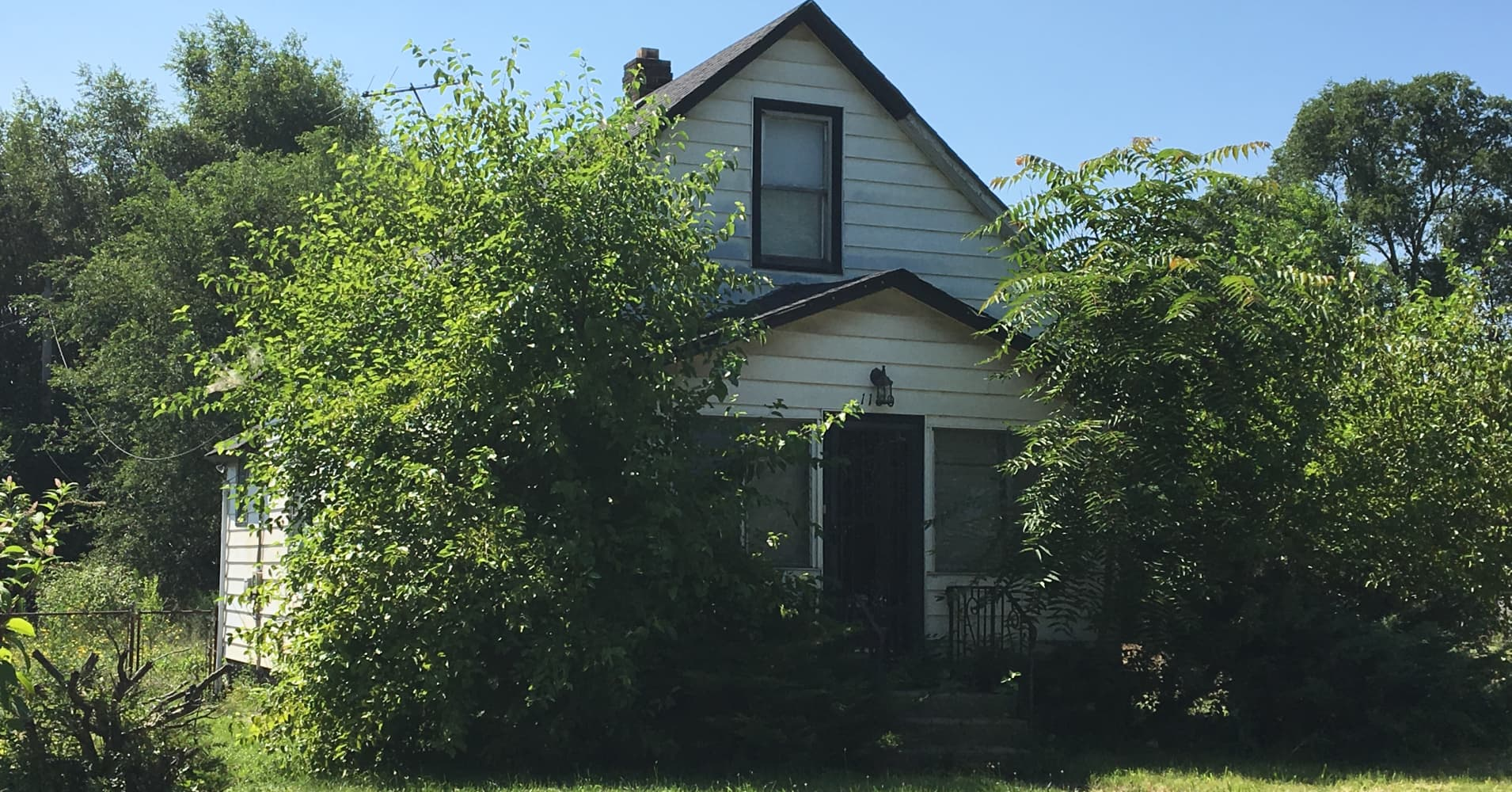 A $1 home in Gary, Indiana.