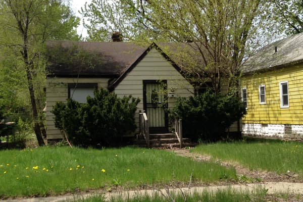 A $1 house in Gary, Indiana.