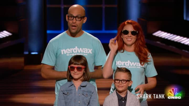 Nerdwax puts an end to slippery specs on 'Shark Tank'