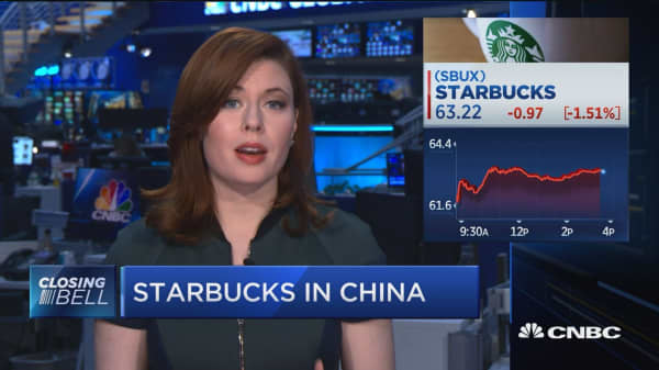 Starbucks downgraded at Goldman Sachs over China concerns