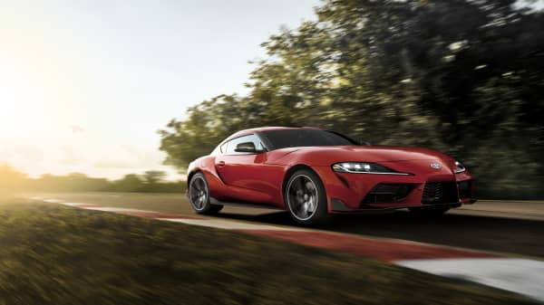 Toyota reveals the first new Supra in the US in 21 years