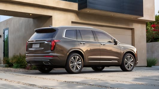 The 2020 Cadillac XT6