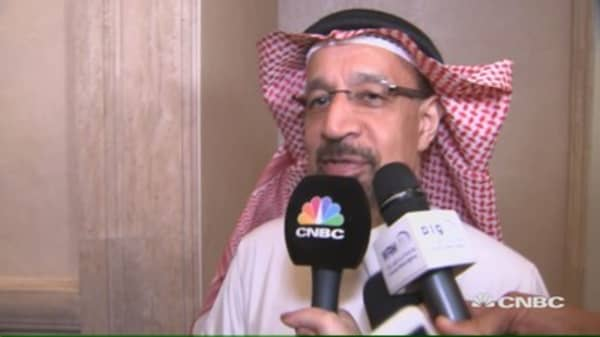 Saudi energy minister: Hope we can bring volatility under control