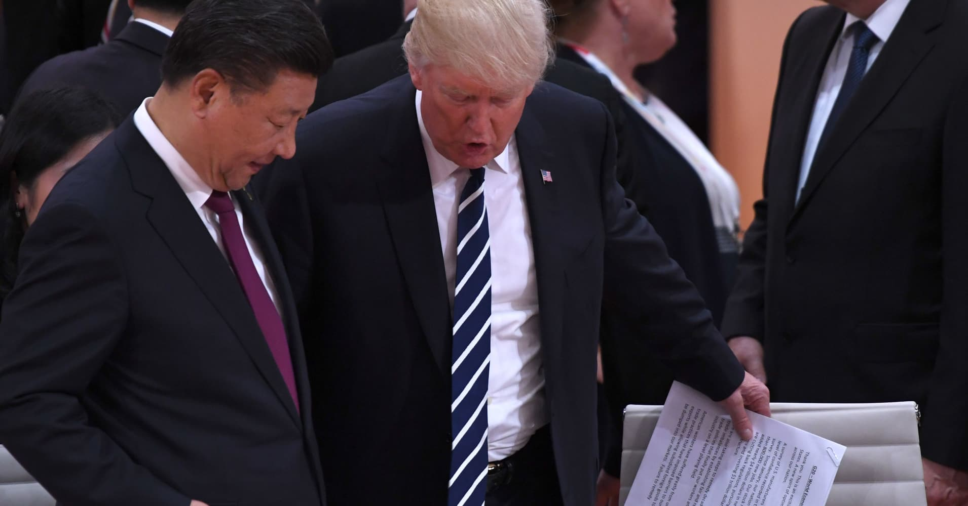 China's Xi Jinping says trade talks with US to continue next week in Washington