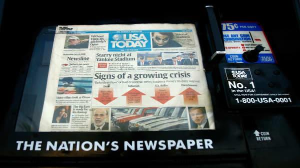 Newspaper publisher MNG enterprises bids to acquire Gannett Company