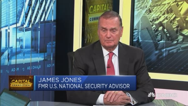 Very optimistic about the US commitment to Middle East: James Jones