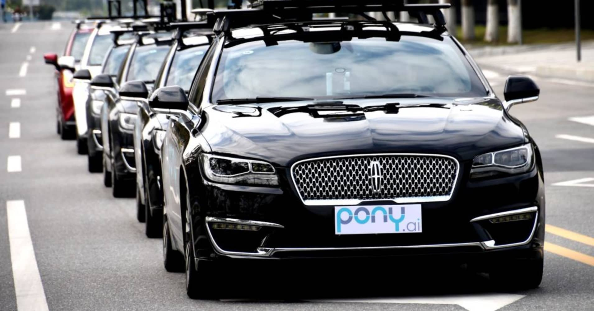 Pony.ai launches driverless taxi app in China