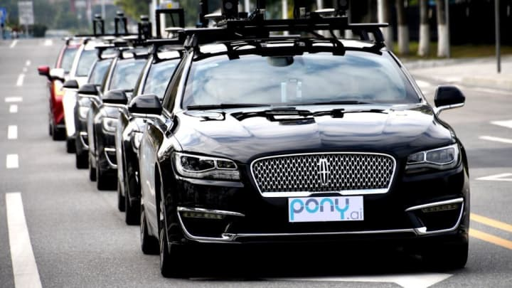Fully autonomous cars could be on open roads within 5 years, says self-driving start-up Pony.ai CEO