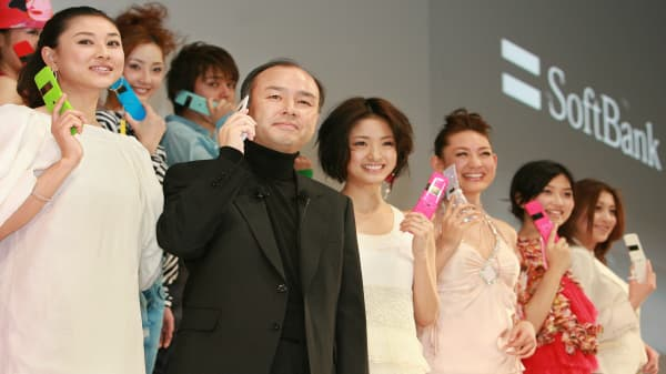 Here's Softbank CEO Masa Son's long-term vision for the company