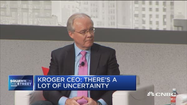 Kroger CEO: I don't see signs of a recession around the corner