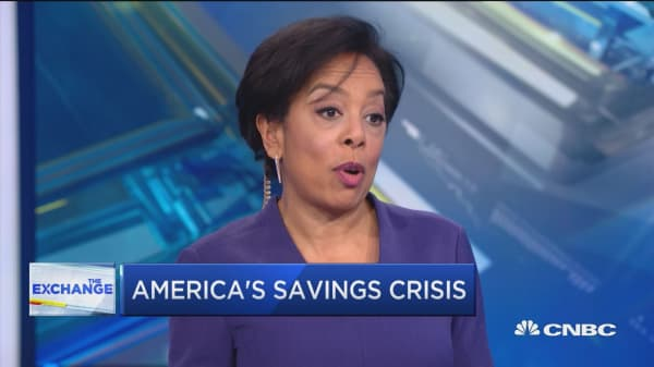 58 percent of Americans have less than $1000 saved