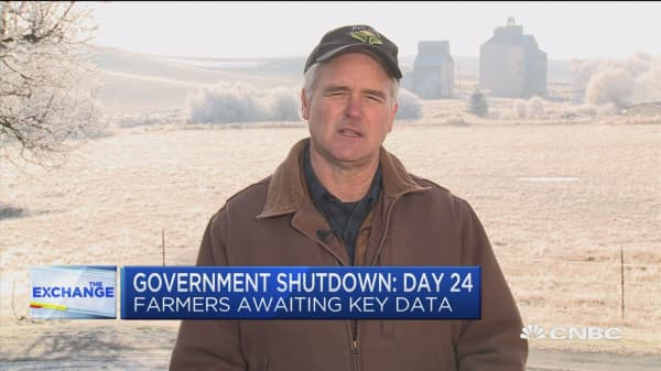Here's how the government shutdown is impacting farmers