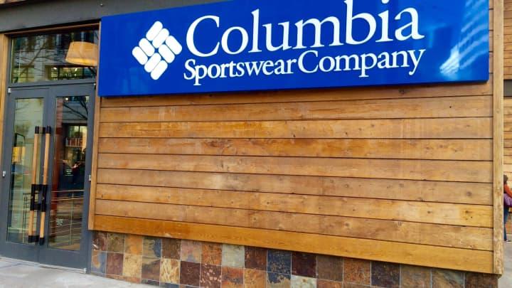 Columbia Sportswear Company store in Seattle, Wa.