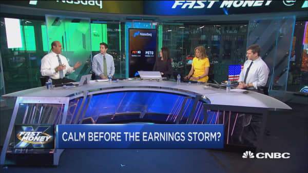 Citi flashing all clear for earnings storm?
