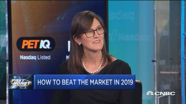 ARK Invest's Cathie Wood says these are the best tech stocks to beat the market