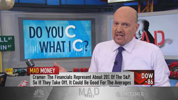 Citi's rally after earnings means we're too worried about recession, says Jim Cramer