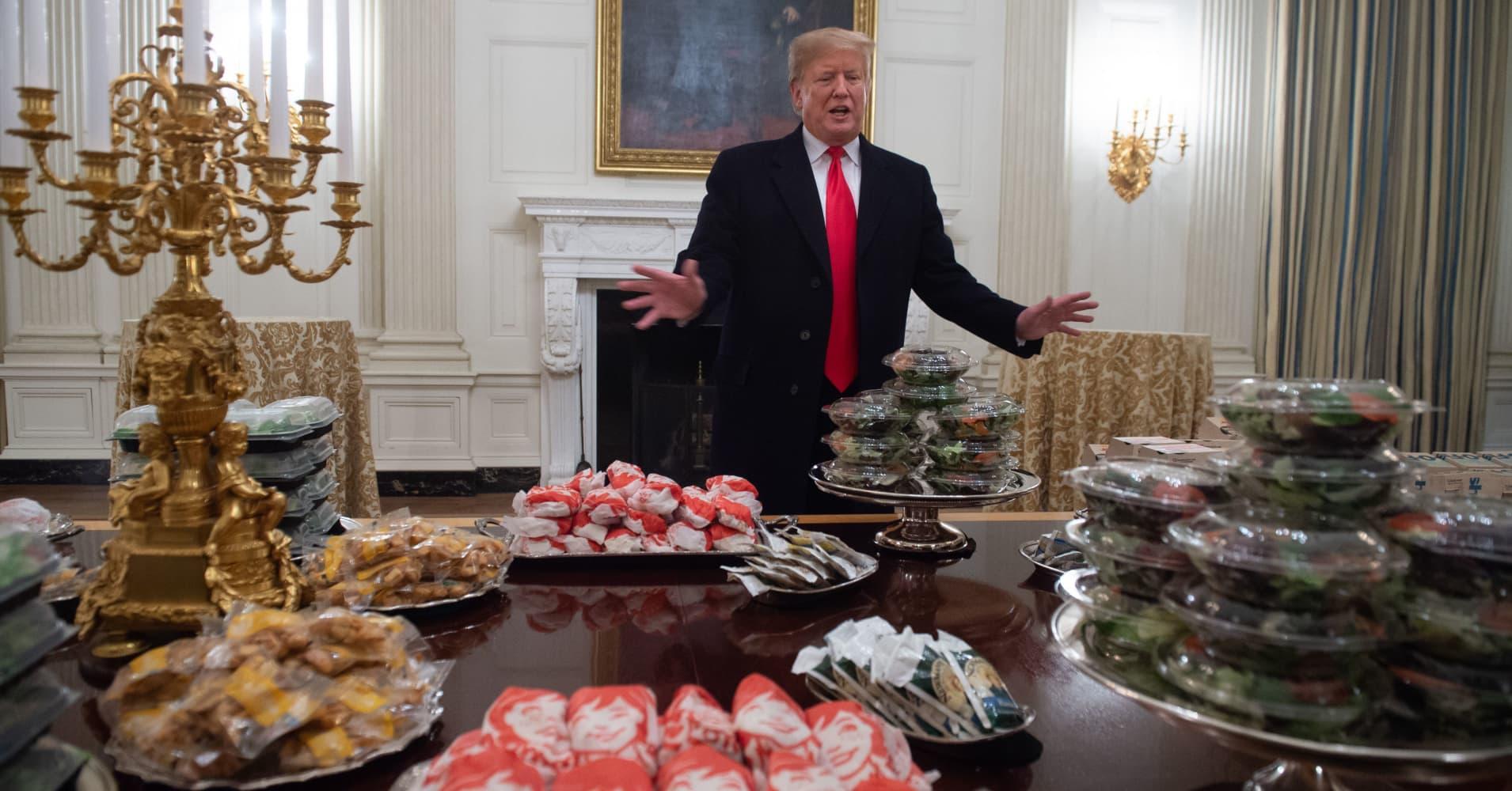 Clemson Tigers get invite to Alinea after Trump dinner