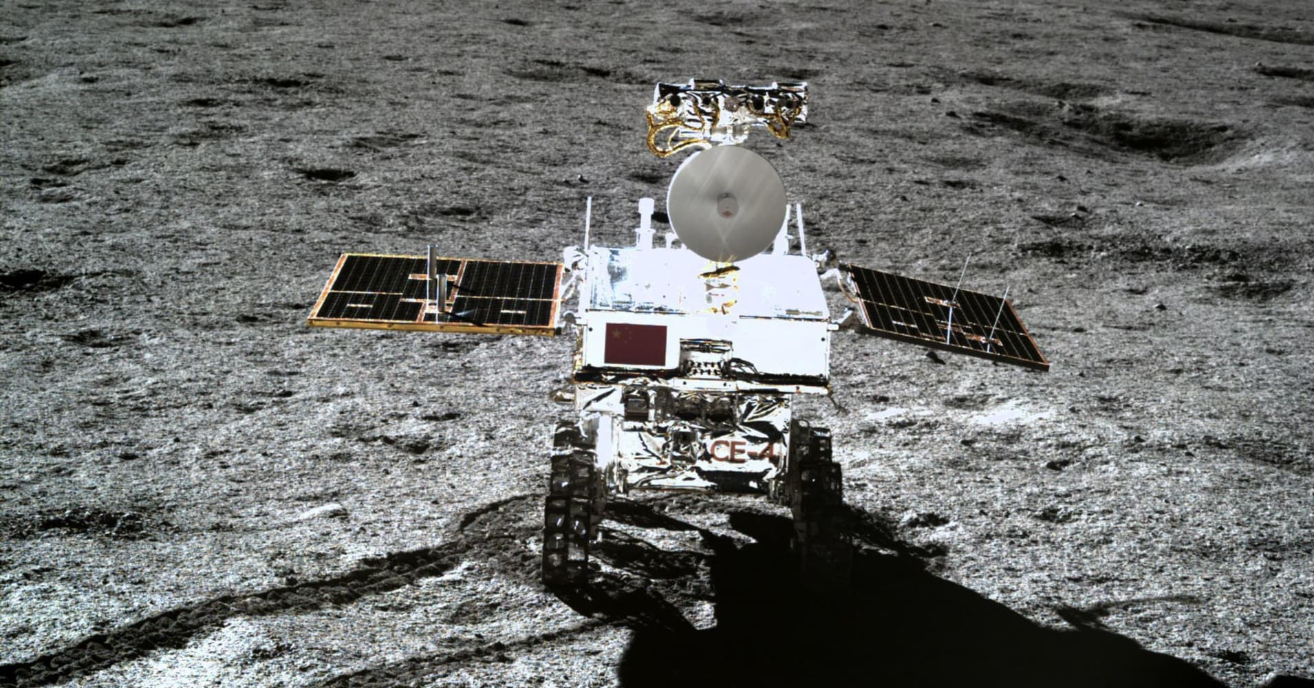 China sprouts plants on the moon for the first time ever