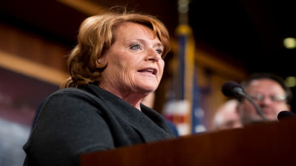 Fmr. Sen. Heitkamp: We need a moderating force for the two extremes