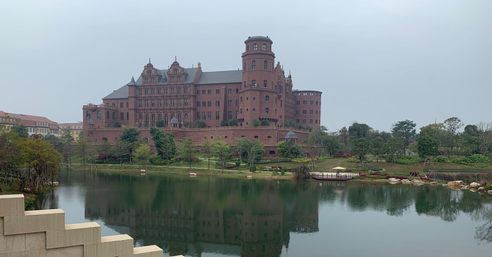 Huawei new campus in Dongguan: photos