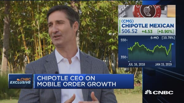 Consumers continue to be confident despite 'noise', says Chipotle CEO