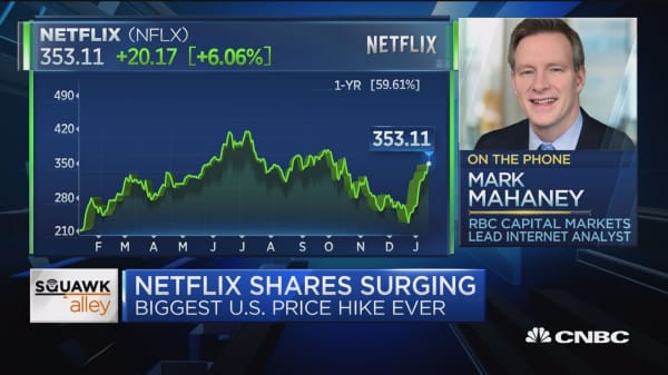 Netflix 'flexing its pricing muscles' with price hike, says analyst