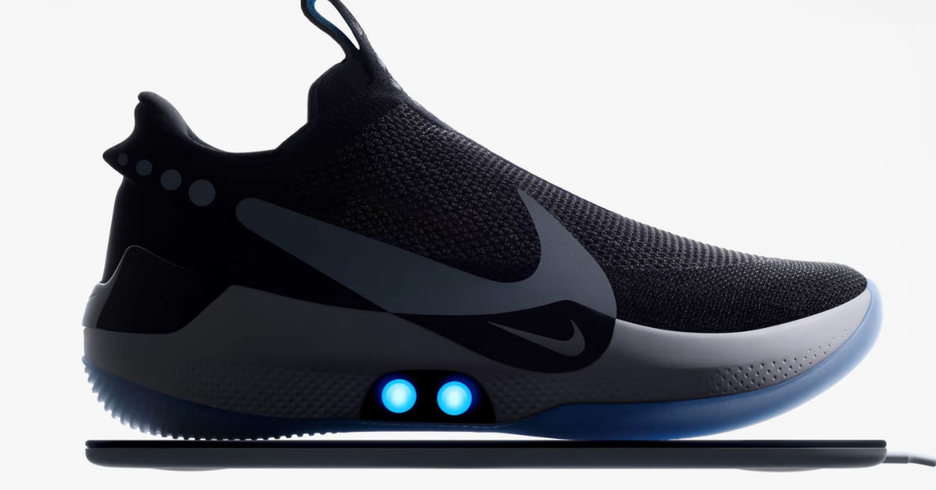 You can lace Nike's Adapt BB shoes with a smartphone app