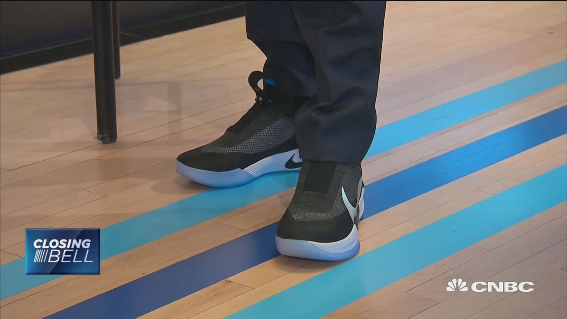 c27ff8e0c30ac You can lace Nike s Adapt BB shoes with a smartphone app