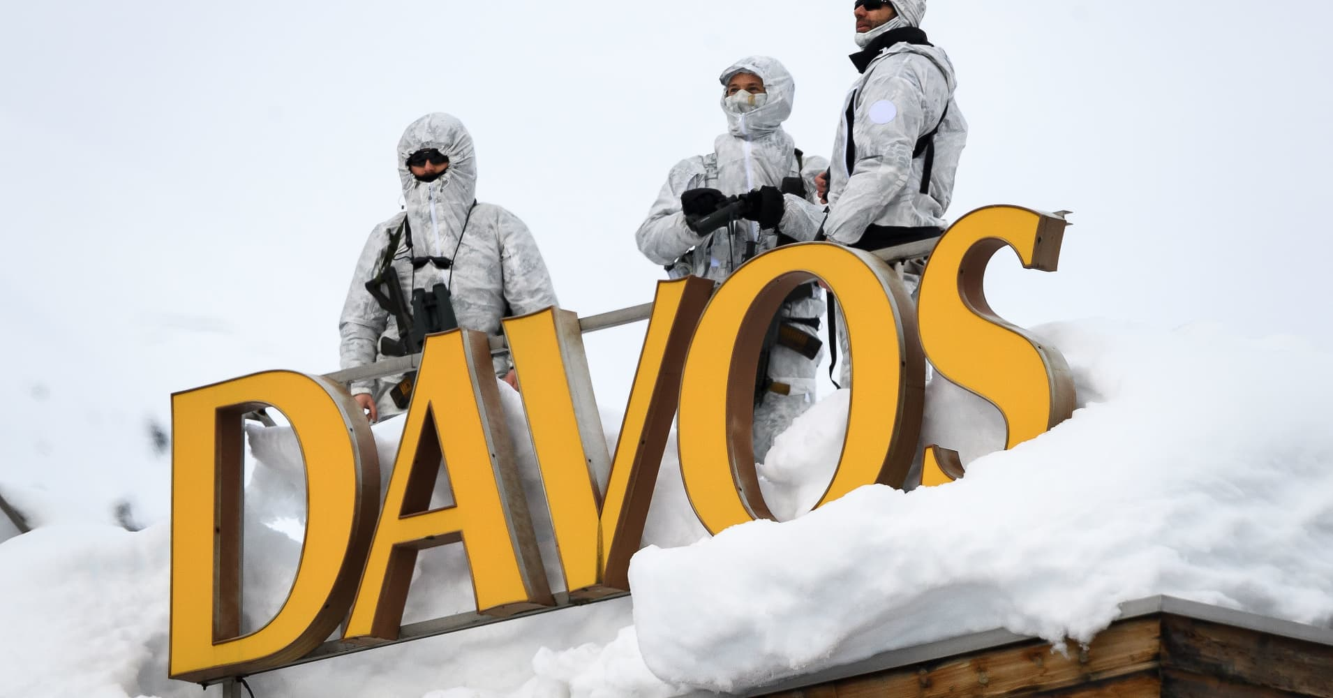 Davos opens with US-China contest as 'the key problem of our time'