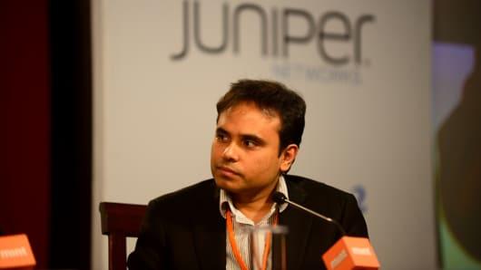 Fractal Analytics CEO Srikant Velamakanni at Mint's Enterprise Technology Summit on February 26, 2014.