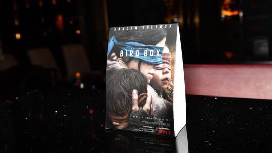 A general view of 'Bird Box' screening on December 19, 2018 in Atlanta, Georgia.