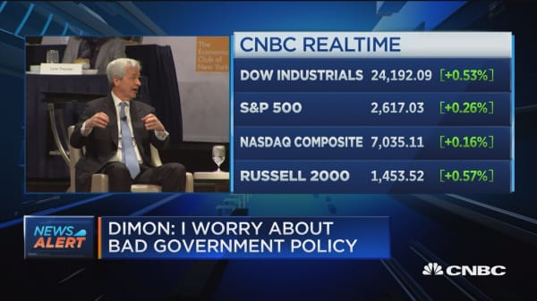 JP Morgan's Dimon says US-China relationship is the most important in 100 years
