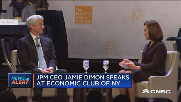 Watch JP Morgan CEO Jamie Dimon speak on the shutdown, Brexit and US China trade