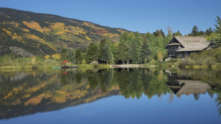 Kevin Costner's Aspen compound has its own