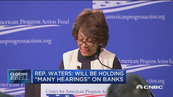 Maxine Waters: Big banks can expect