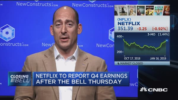 Netflix's decision to raise prices is a Catch-22, says New Constructs' David Trainer