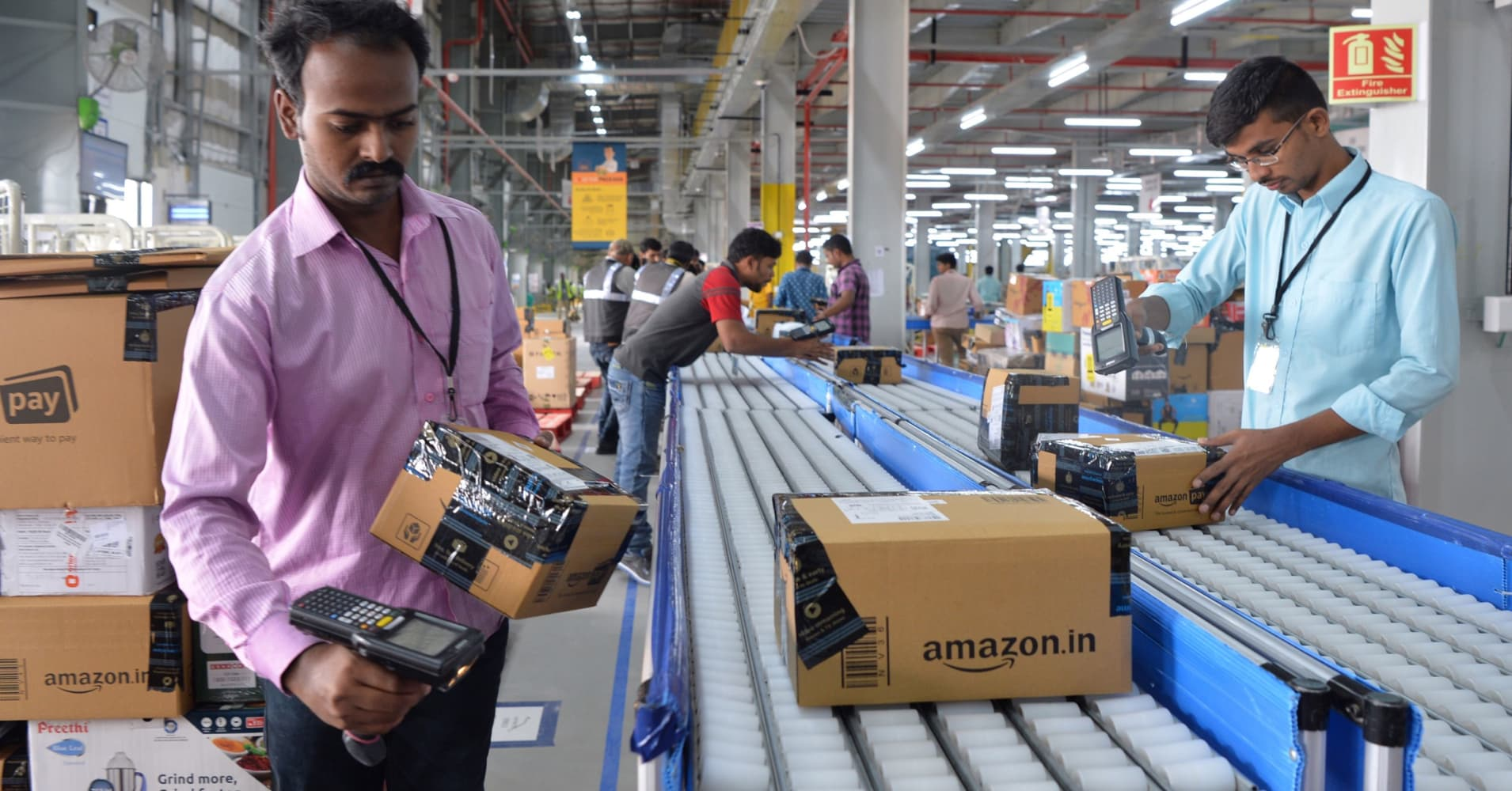 Amazon is on a hiring spree in India, even as new restrictions on foreign sellers loom