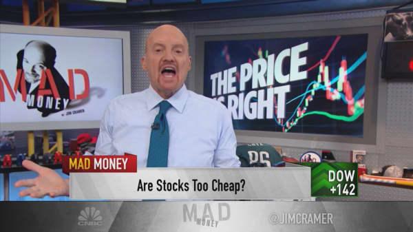 Stock market got far too cheap after late 2018 sell-offs: Cramer