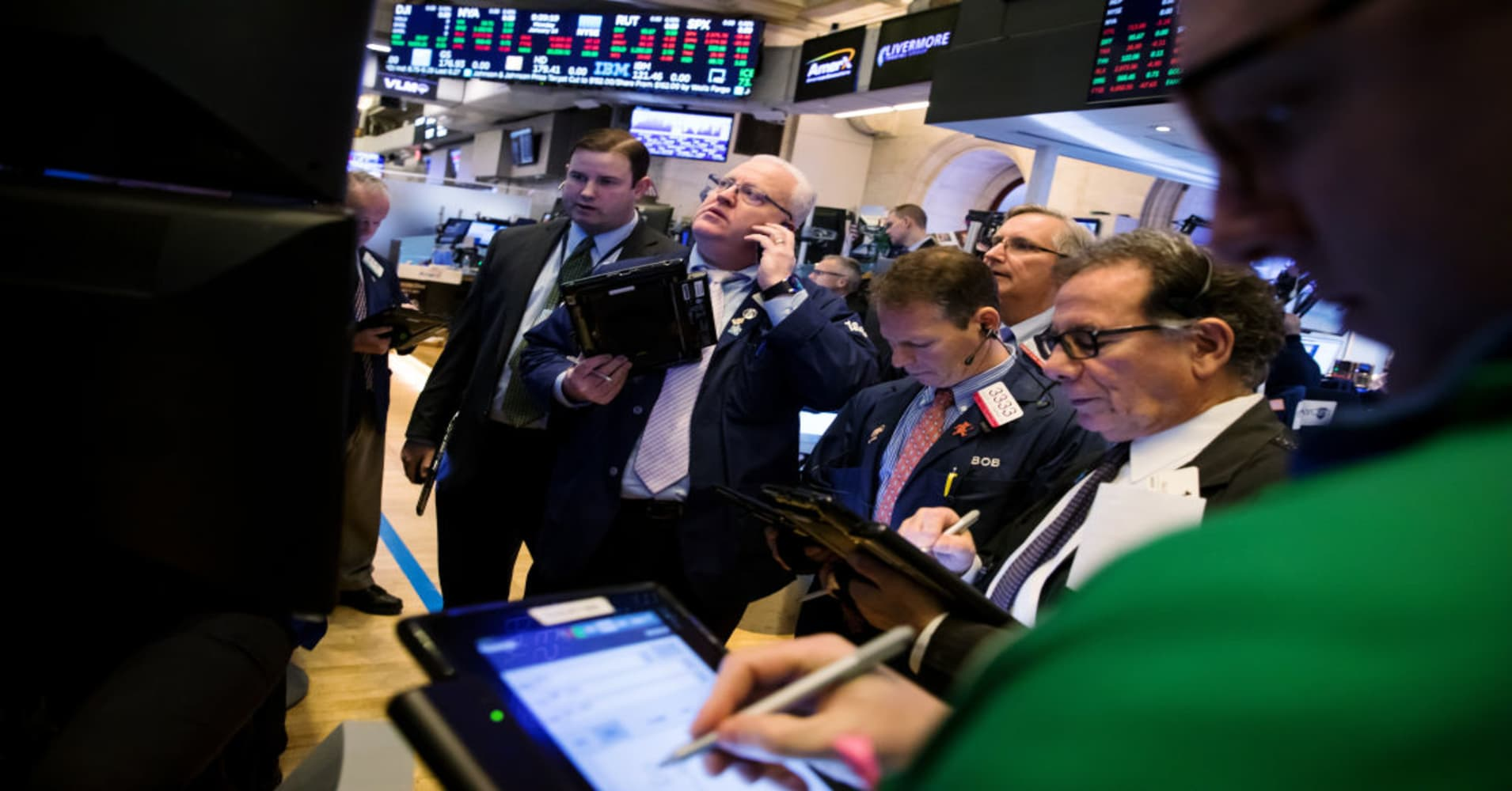 Stocks making the biggest moves premarket: MS, EA, CRM, PCG, S & more