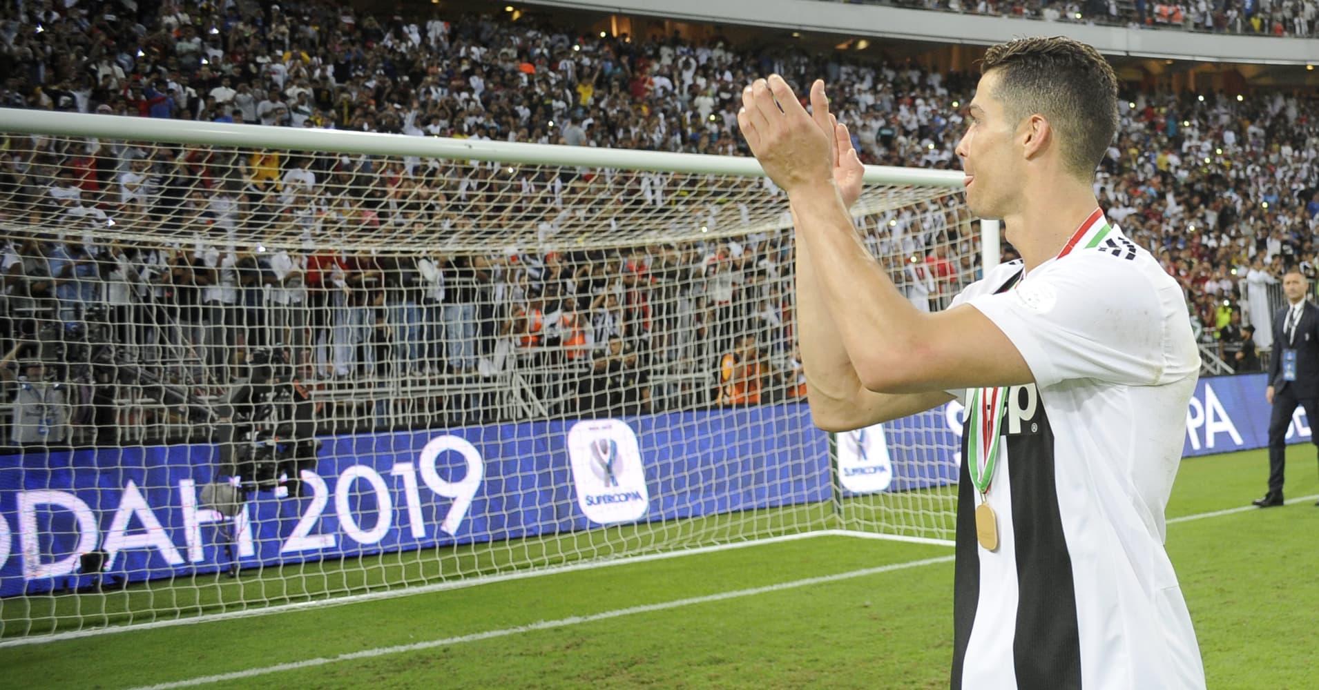 Cristiano Ronaldo's goal-scoring heroics sends Juventus shares soaring 17 percent