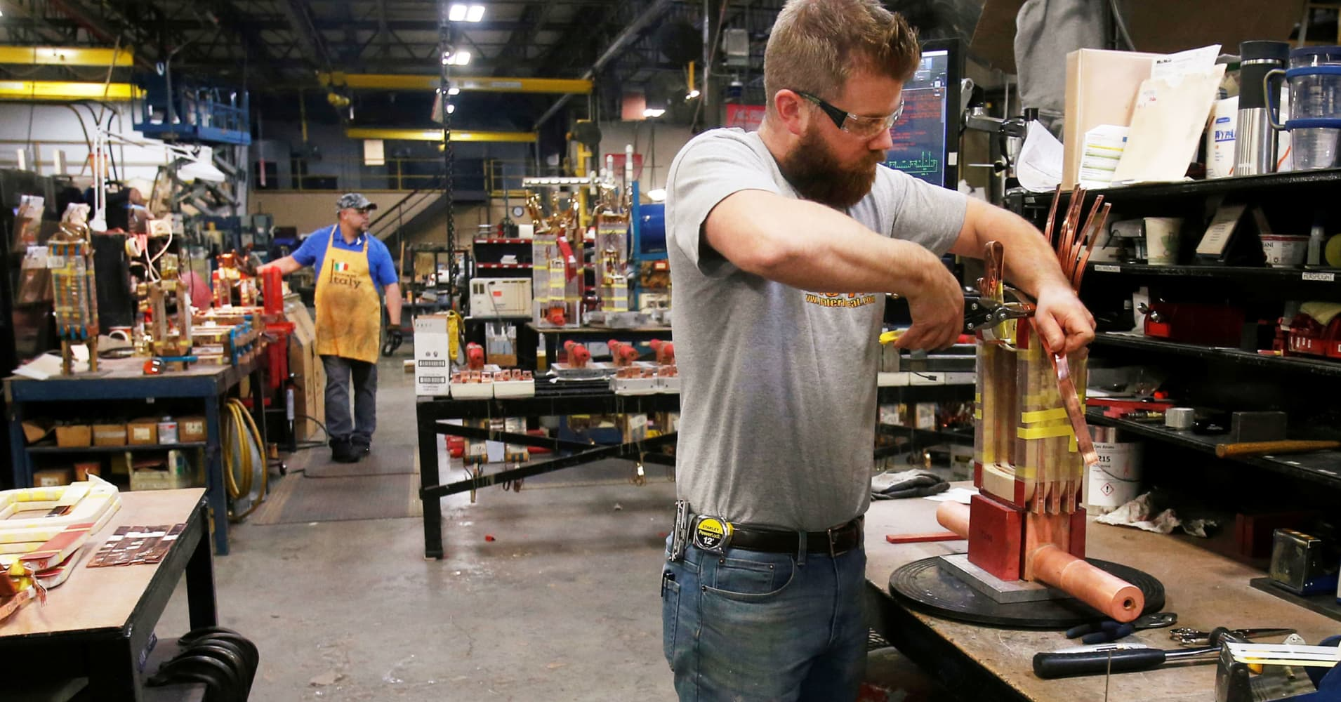 Worker wage gains are keeping up with inflation, and then some