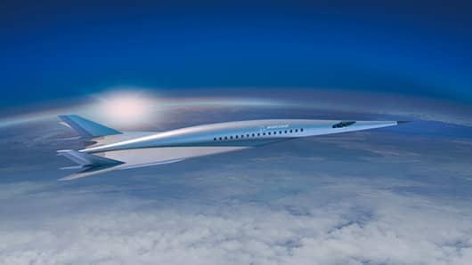 Boeing hypersonic plane design concept