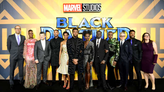 Black Panther First Superhero Movie Nominated For Best Picture