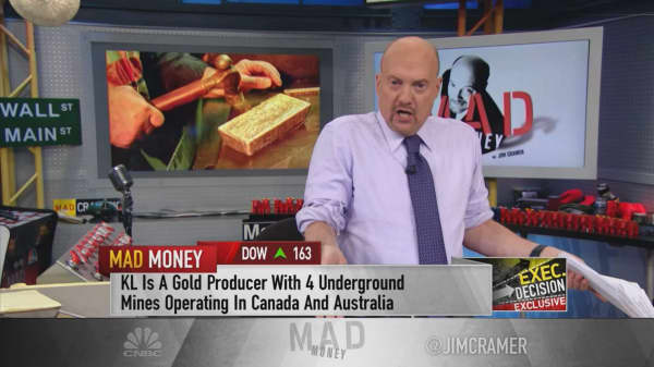 Gold mining CEO addresses recent industry mergers: 'I think they're on the right track'
