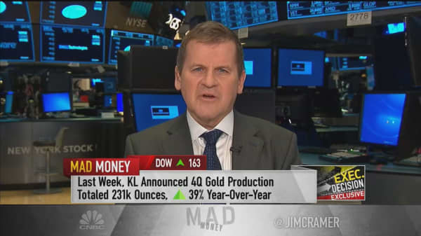 Gold mining CEO says recent industry mergers 'on the right track'