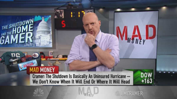Cramer on how to protect your portfolio from Washington uncertainty